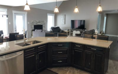 Mark and Jenn Tilley's kitchen renovation they'll never forget